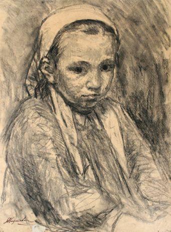 Девочка в Платке.