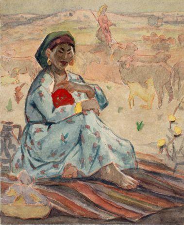 Жена пастуха.